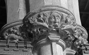 """""""Green Man carving"""". Licensed under Public Domain via Wikimedia Commons - https://commons.wikimedia.org/wiki/File:Green_Man_carving.jpg#/media/File:Green_Man_carving.jpg"""